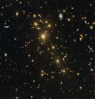 Abell 1703, a galaxy cluster in the northern hemisphere