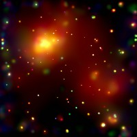 Abell 2125, a galaxy cluster in Ursa Minor