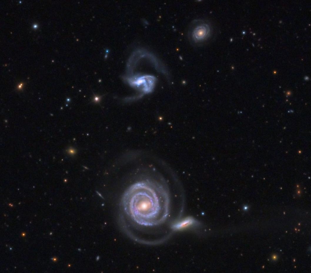 NGC 5752, NGC 5753, NGC 5754 and NGC 5755