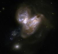 IC 694 and NGC 3690