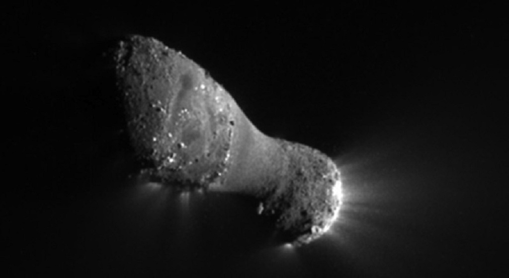 Comet Hartley 2, a small periodic comet
