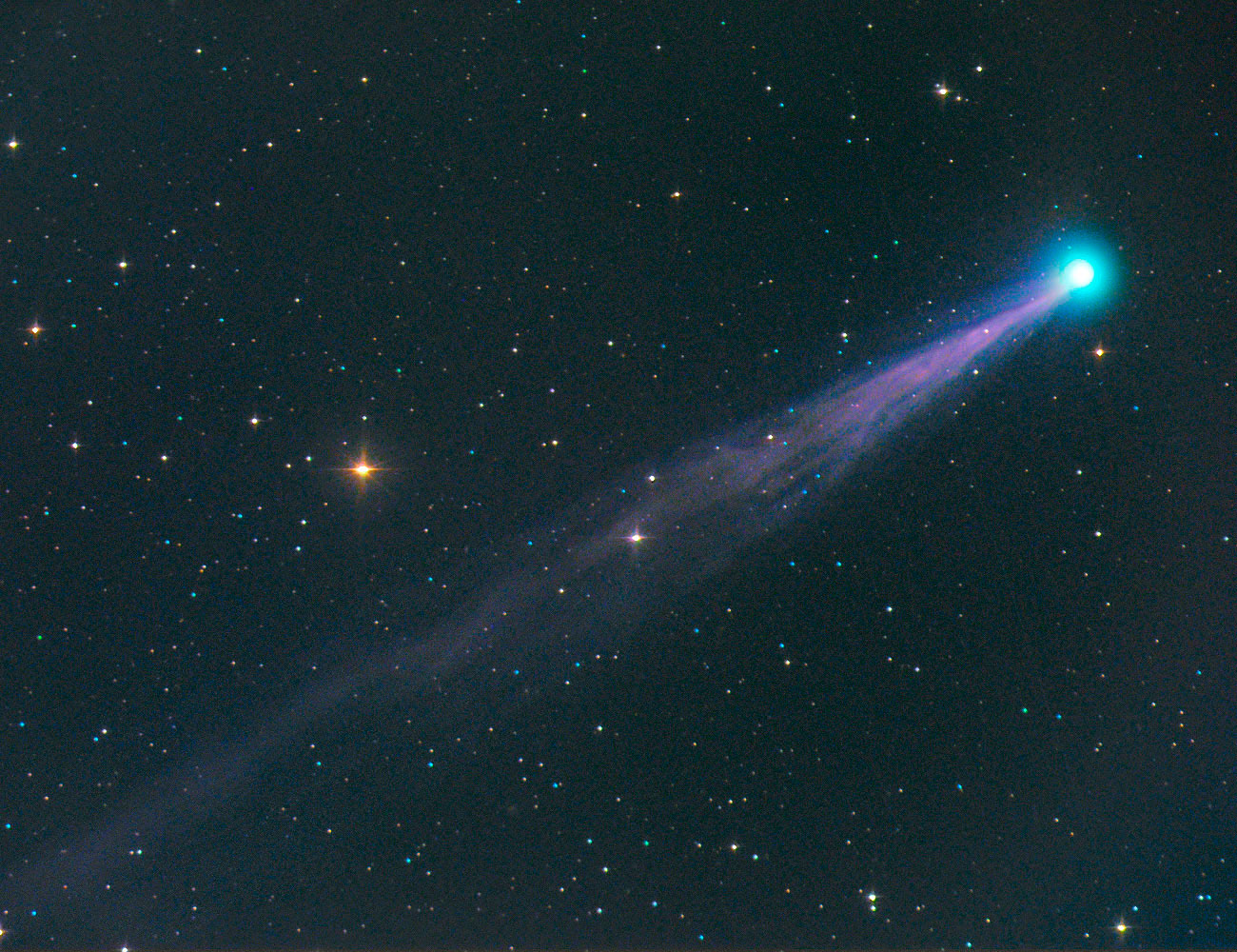 Comet SWAN (C2006 M4) arrived straight from the Oort cloud making its very first journey into the inner solar system by the end of June 2006