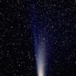 Halley's Comet or Comet Halley is the best-known of the short-period comets, and is visible (with the naked eye) from Earth every 75 to 76 years