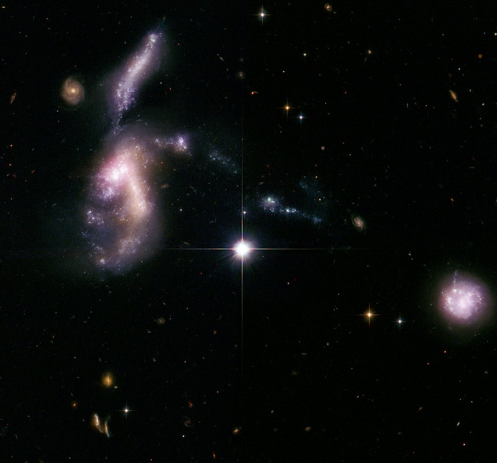 Hickson Compact Group 31, a group of interacting galaxies