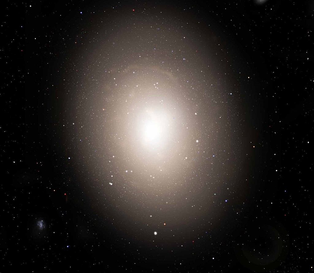 IC 1101, the largest known galaxy