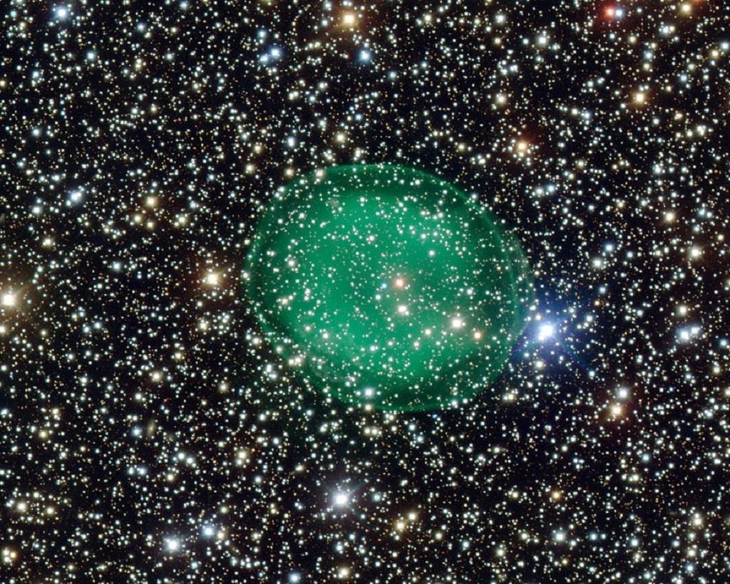 IC 1295, a planetary nebula in Scutum