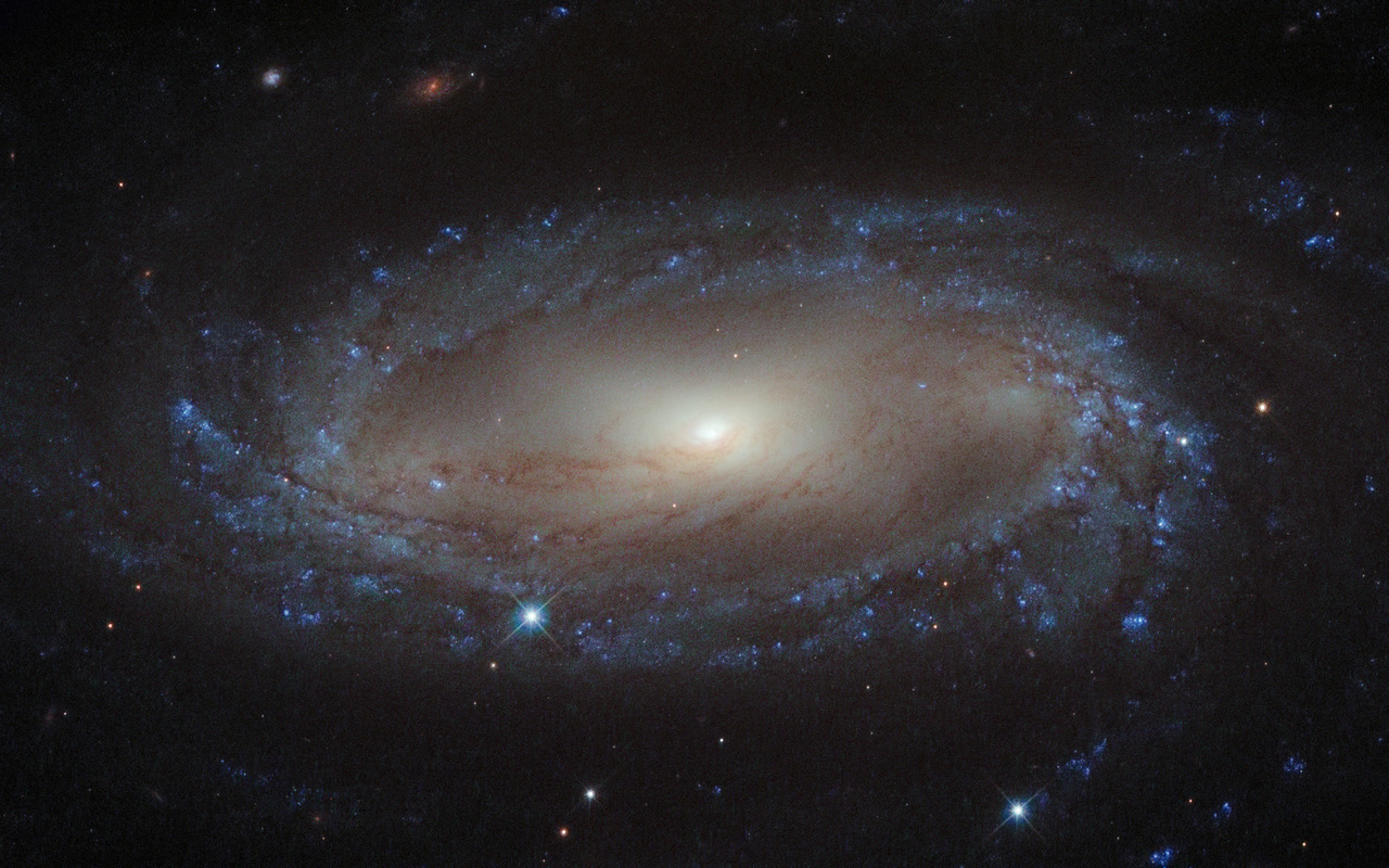 IC 2560, a barred spiral galaxy in Antlia