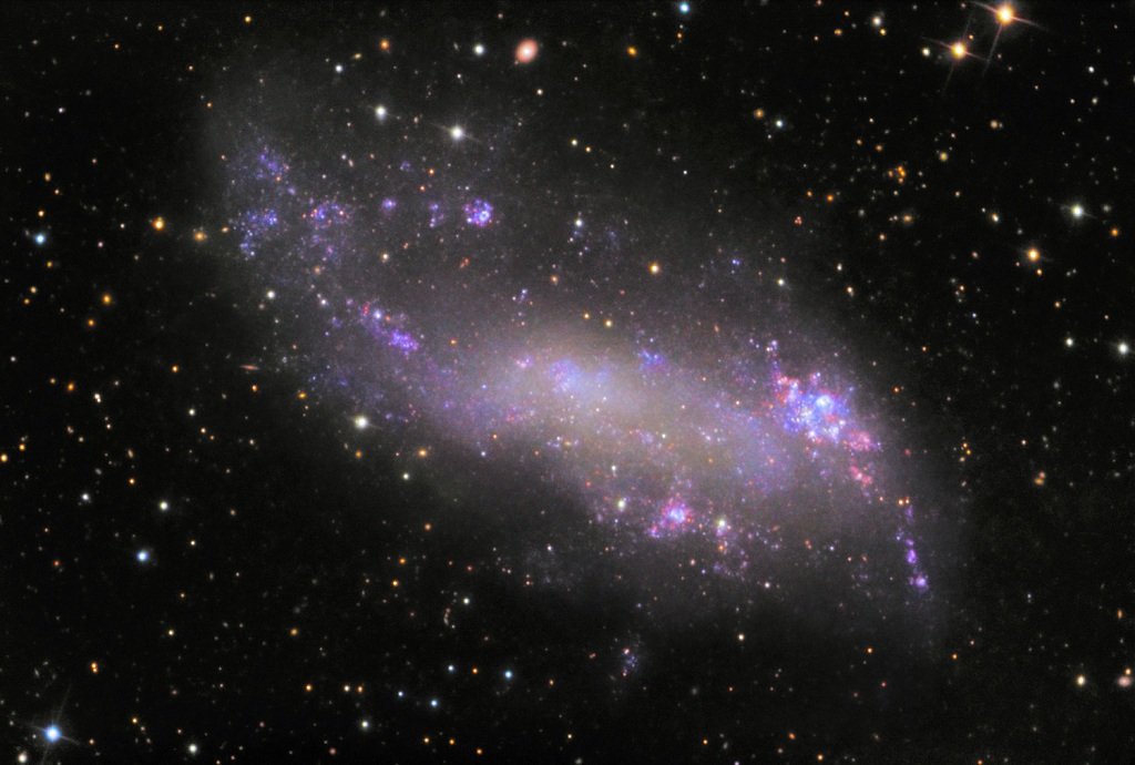 what are irregular galaxies -#main
