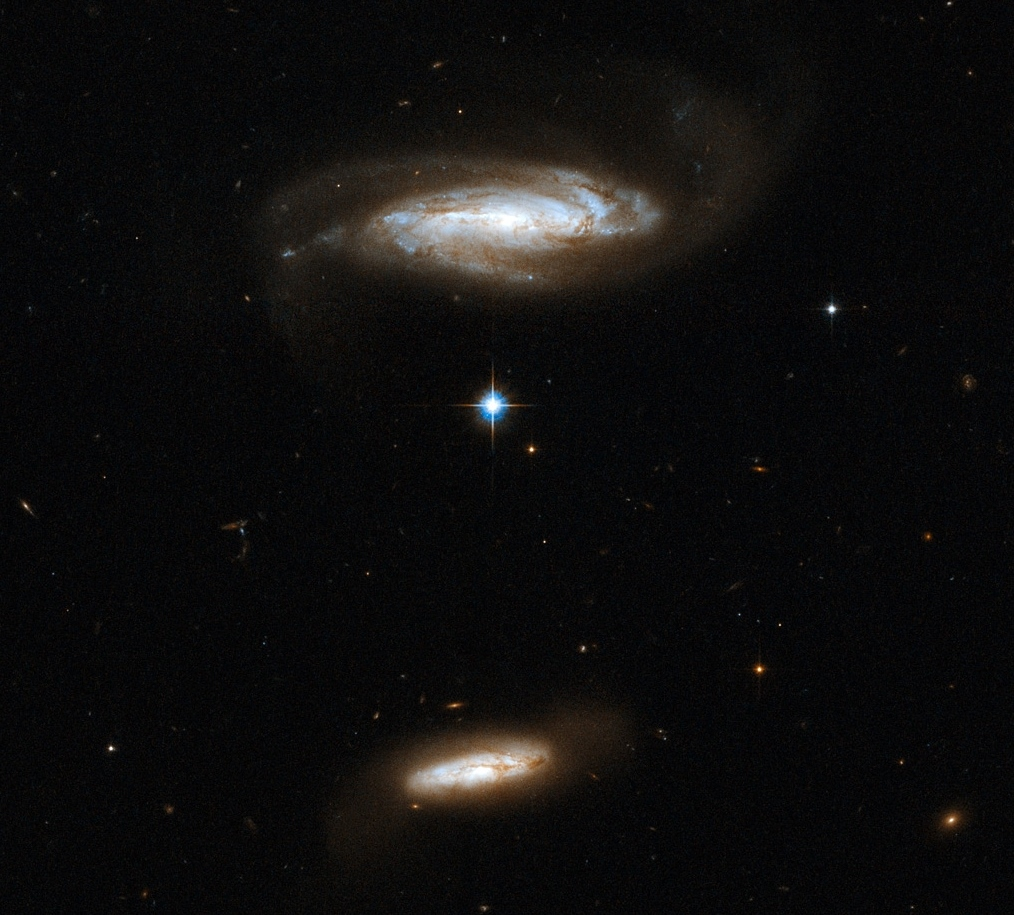 IC 2810, interacting galaxies in Leo | Anne's Astronomy News