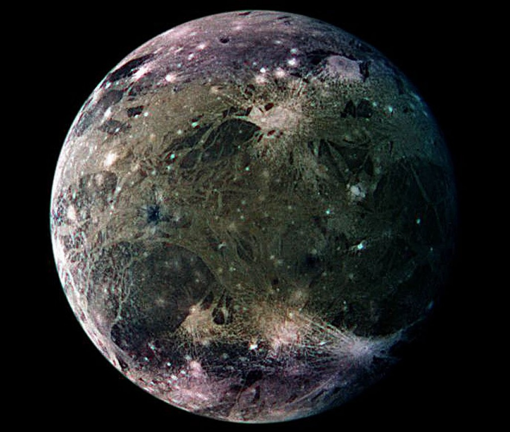 the major moons in solar system - photo #23