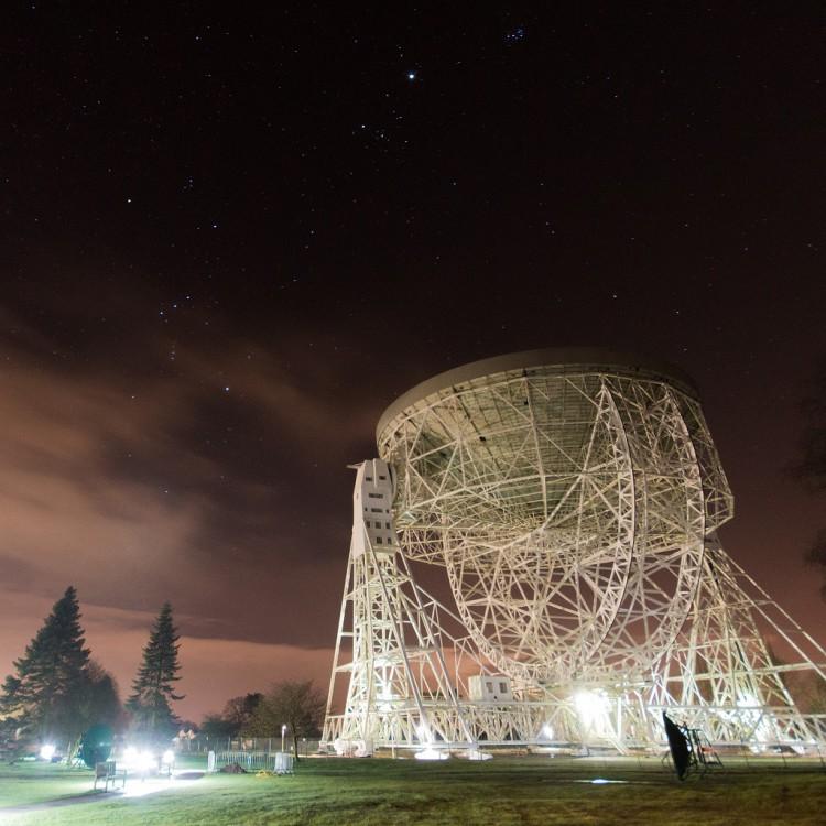 Lovell Telescope & Orion