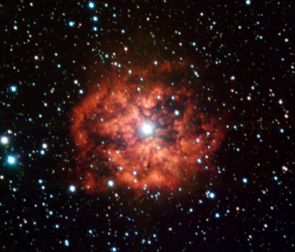 M1-67, a wind-nebula surrounding Wolf-Rayet star WR 124