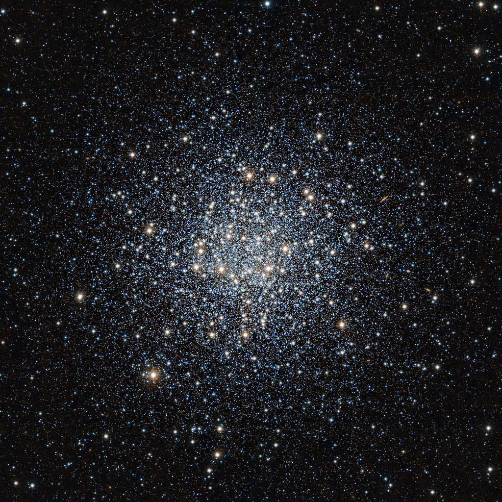 Messier 55, a large globular cluster in Sagittarius