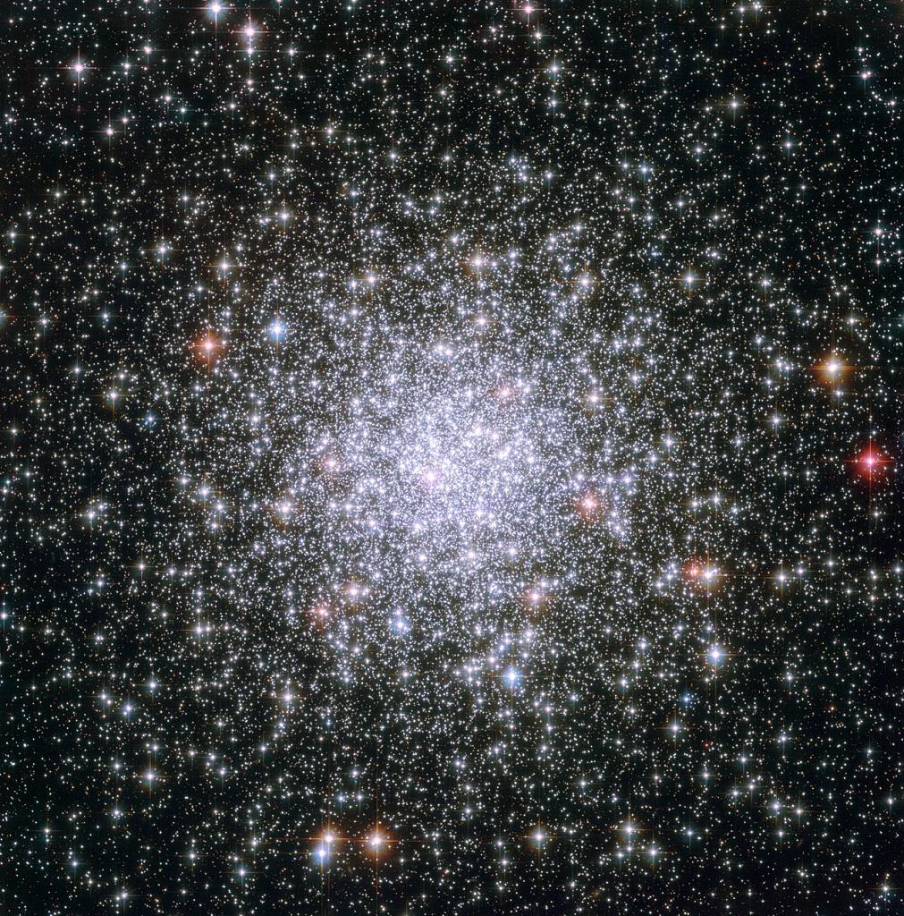 Messier 69, a globular cluster in Sagittarius