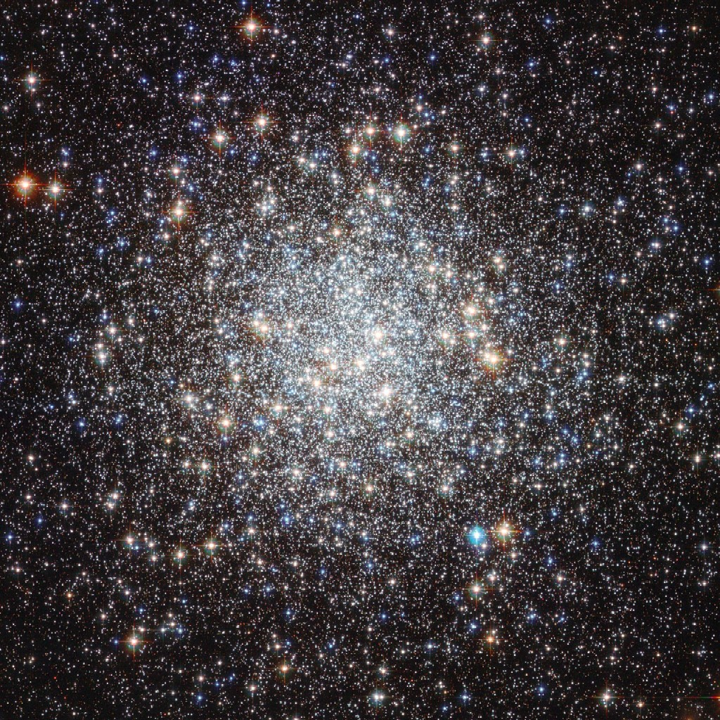 Messier 9, a globular clusters close to the center of our Milky Way