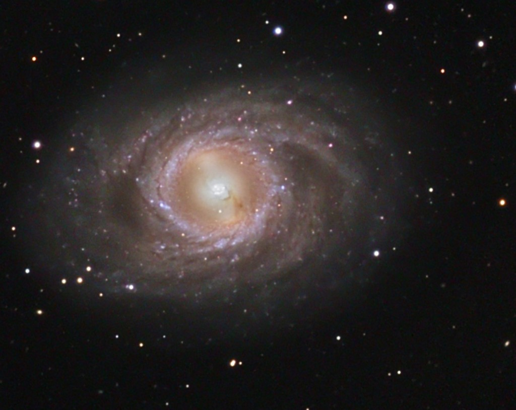 Messier 95 A Barred Spiral Galaxy In Leo