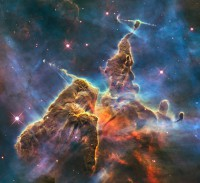 Mystic Mountain, a star-forming region inside the Carina Nebula
