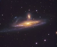 NGC 1531 and NGC 1532, a pair of interacting galaxies in Eridanus