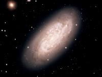 NGC 1792, a starburst galaxy in Columba