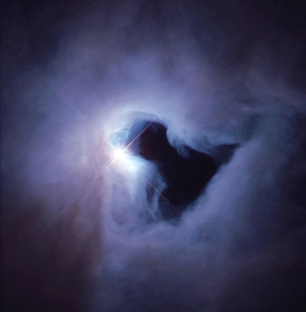 NGC 1999, a reflection nebula in
