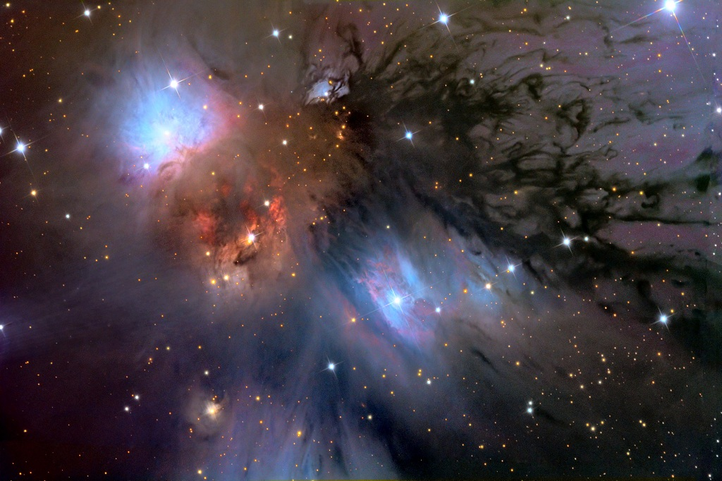 NGC 2170, a reflection nebula in Monoceros