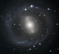 NGC 2217, a lenticular galaxy in Canis Major