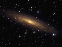 NGC 2613, a barred spiral galaxy in Pyxis