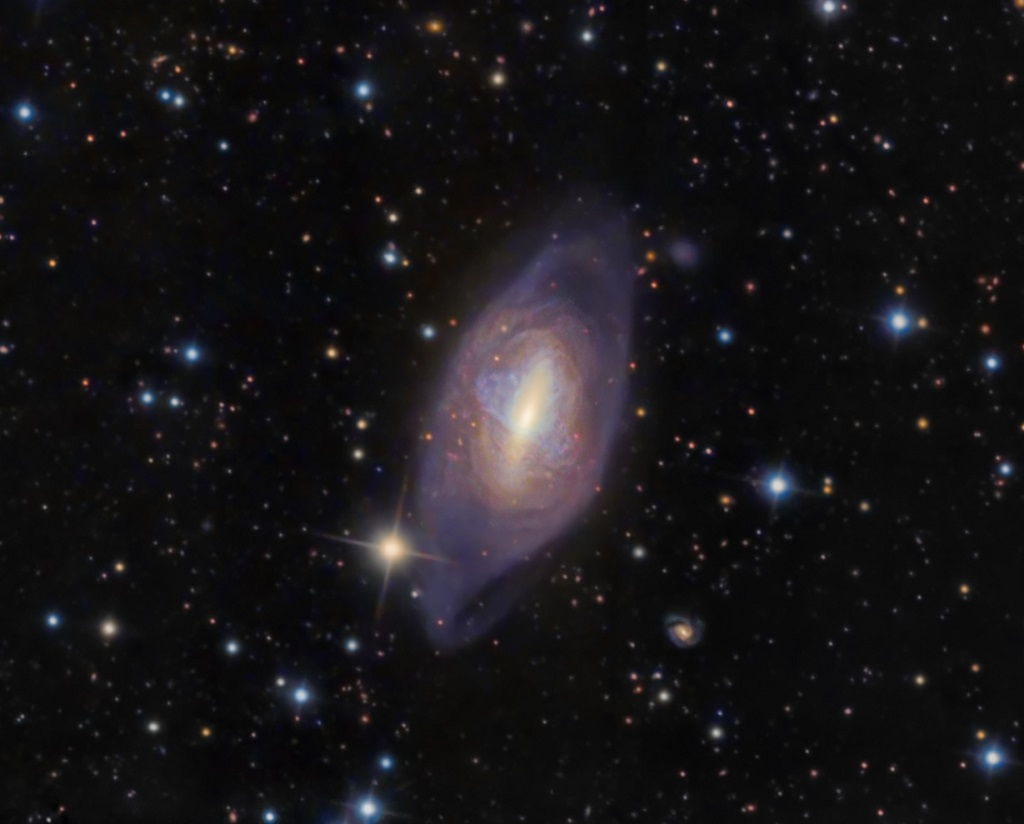 The Helix Galaxy, Arp 336