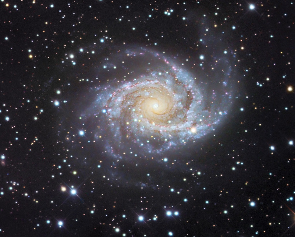 NGC 2997, a grand design spiral galaxy in Antlia