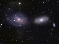 NGC 3169, NGC 3166, NGC 3165