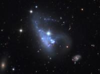 The Loony Galaxy, Arp 263