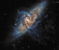 NGC 3314A & NGC 3314B