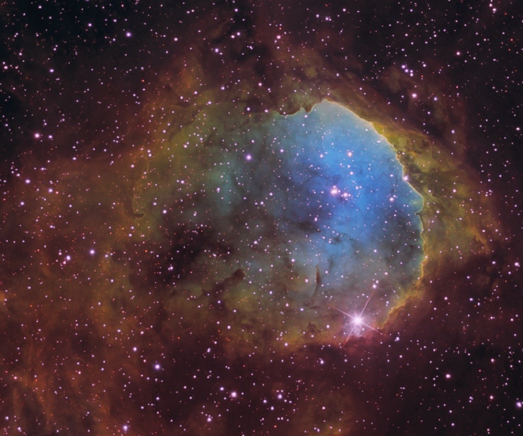 The Gabriela Mistral Nebula, an emission nebula in Carina
