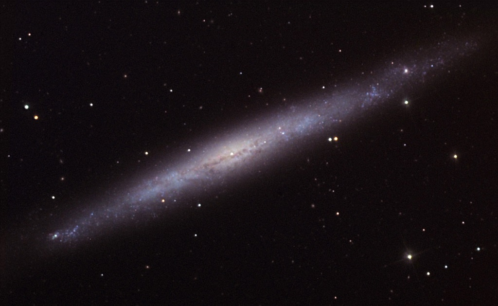 The Silver Needle Galaxy, Caldwell 26