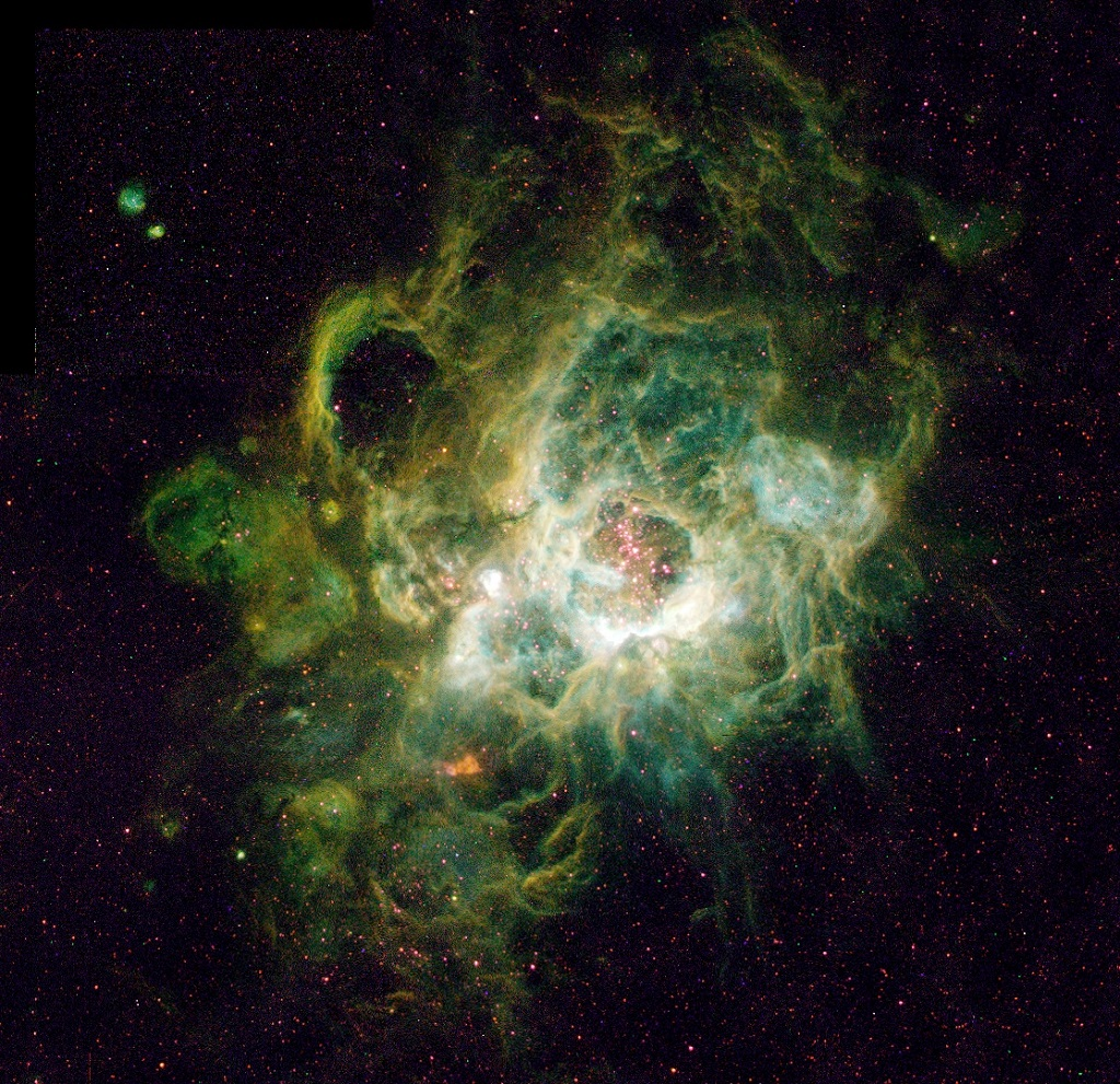 NGC 604, an emission nebula in Messier 33