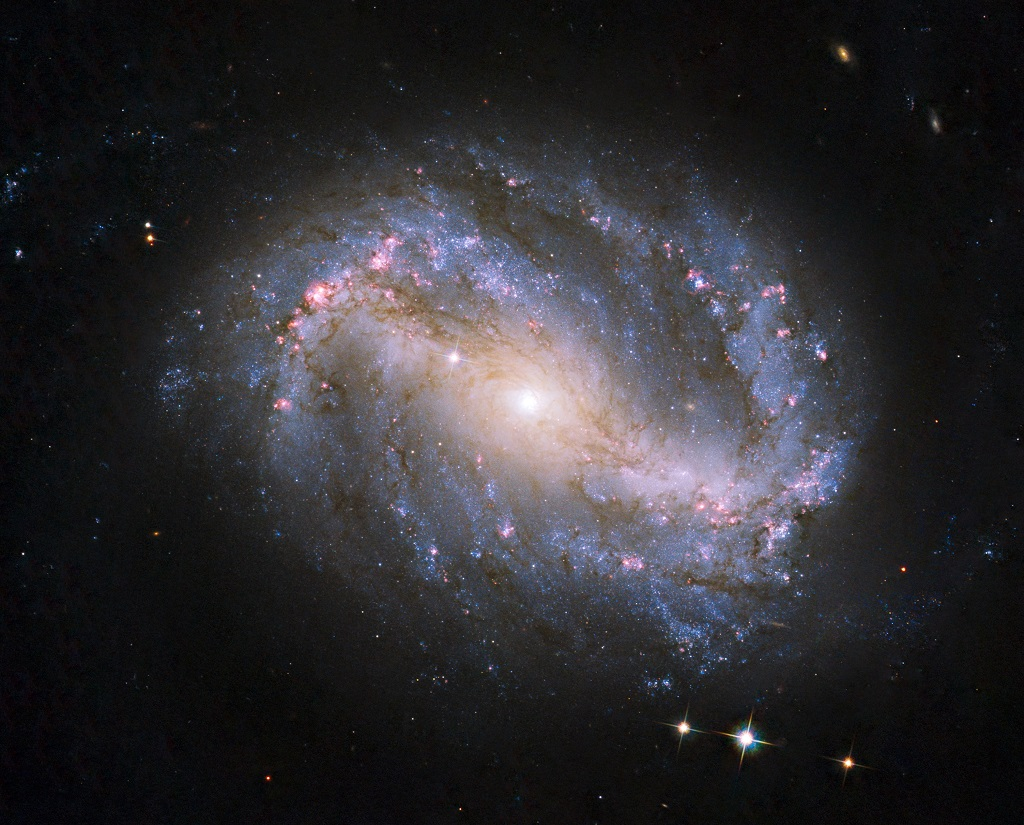 NGC 6217, a spiral galaxy in Ursa Minor