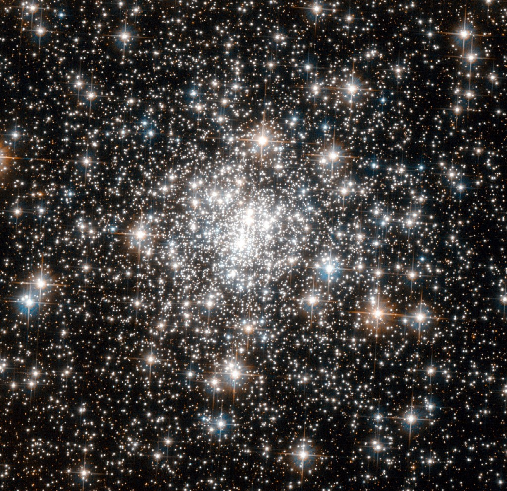 Ngc 6642 A Globular Cluster In Sagittarius Anne S