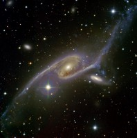 the Condor Galaxy, IC 4970