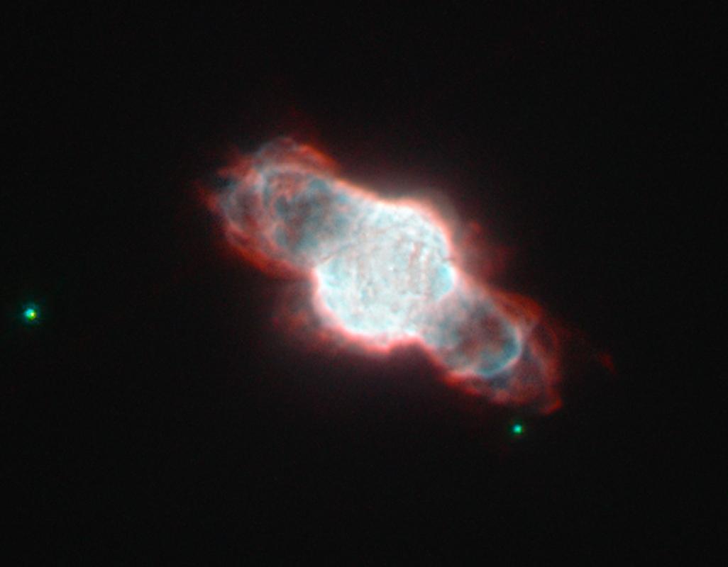 NGC 6886, a planetary nebula in Sagitta