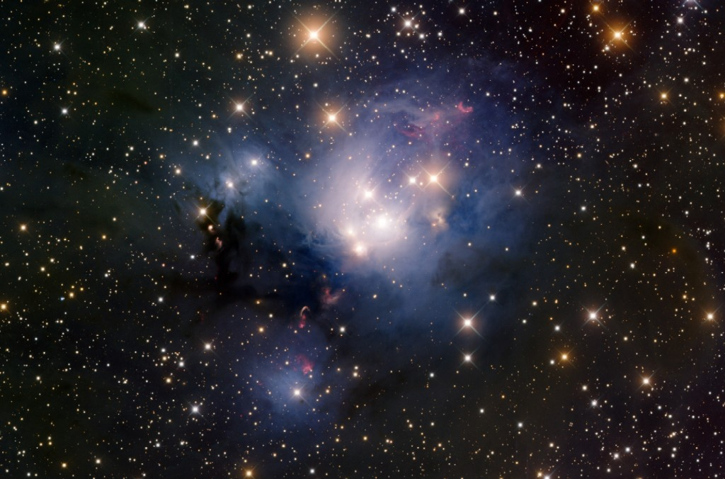 Ngc 7129 Is An Open Cluster And Stellar Nursery 3 000 Ly