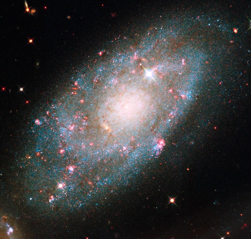 NGC 7320, a dwarf galaxy in Pegasus