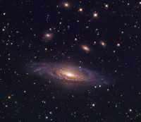 NGC 7331, a spiral galaxy in Pegasus