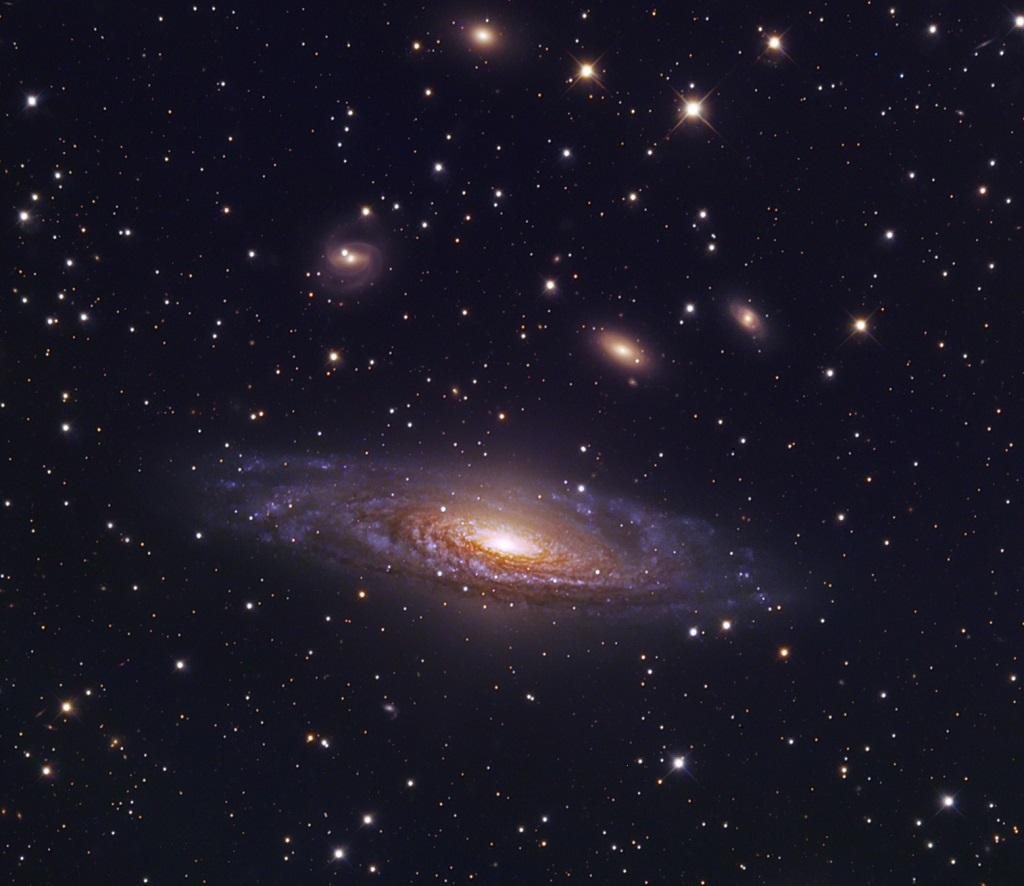 NGC 7331, a spiral galaxy in Pegasus