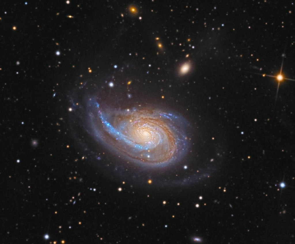 NGC 772, an unbarred spiral galaxy in Aries