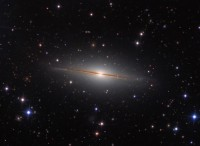 The Little Sombrero Galaxy