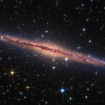NGC 891, a beautiful edge-on spiral galaxy