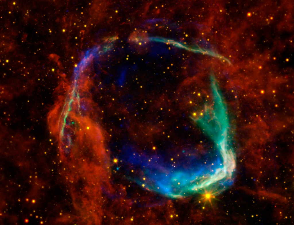 RCW 86, a supernova remnant between Circinus and Centaurus