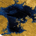 Saturn's moon Titan' most curious features is its collection of lakes and rivers filled with liquid hydrocarbons such as ethane and methane