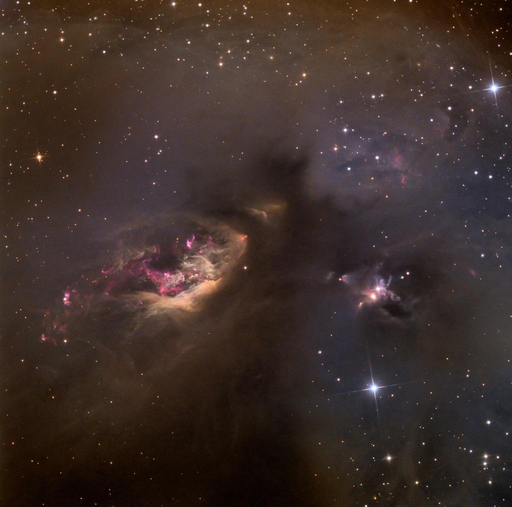 Sh2-239, a reflection nebula in Taurus