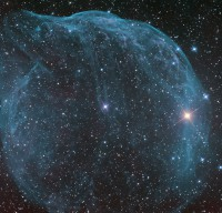 Sharpless 308, a cosmic bubble in Canis Major